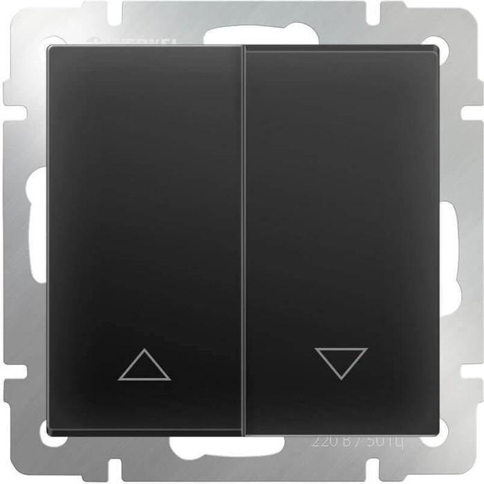 Выключатель Werkel WL08-01-02 черный