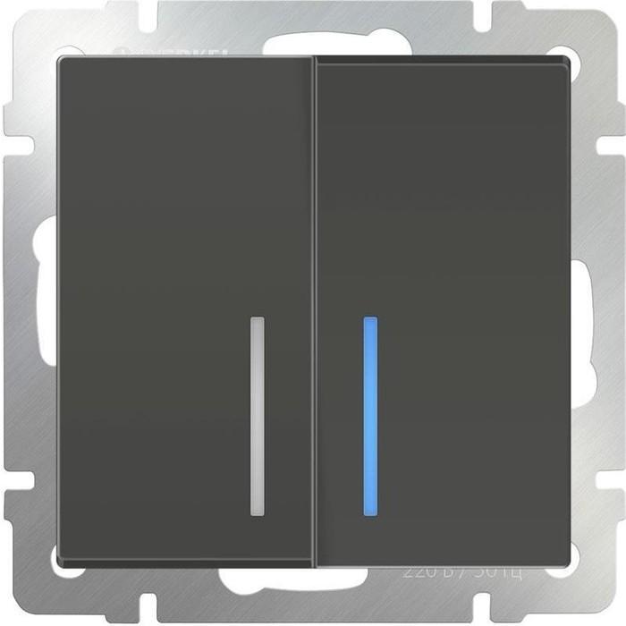 Выключатель Werkel WL07-SW-2G-LED
