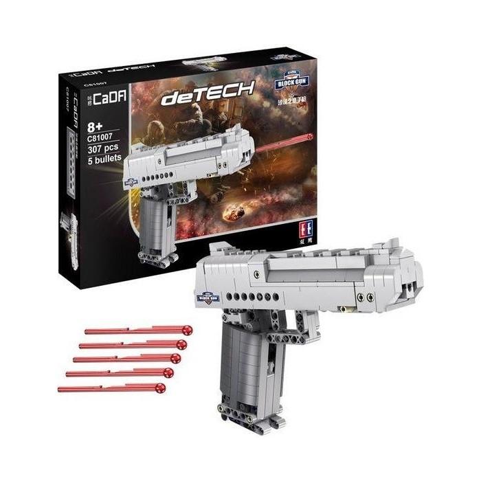 Конструктор Cada deTech пистолет Desert Falcon (307 деталей)