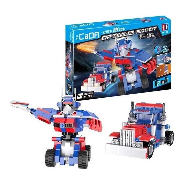 Конструктор Cada Робот OPTIMUS (251 деталь)
