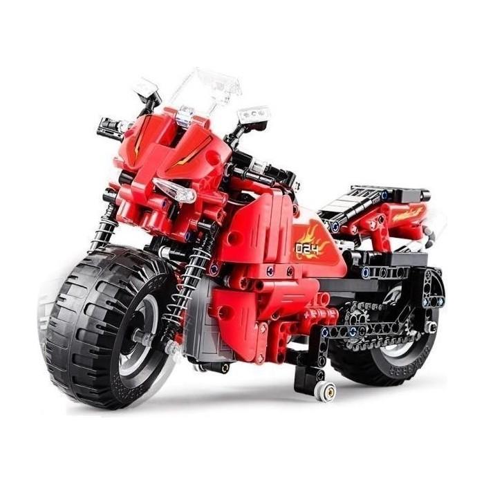 Конструктор Cada deTech гоночный мотоцикл (484 детали)