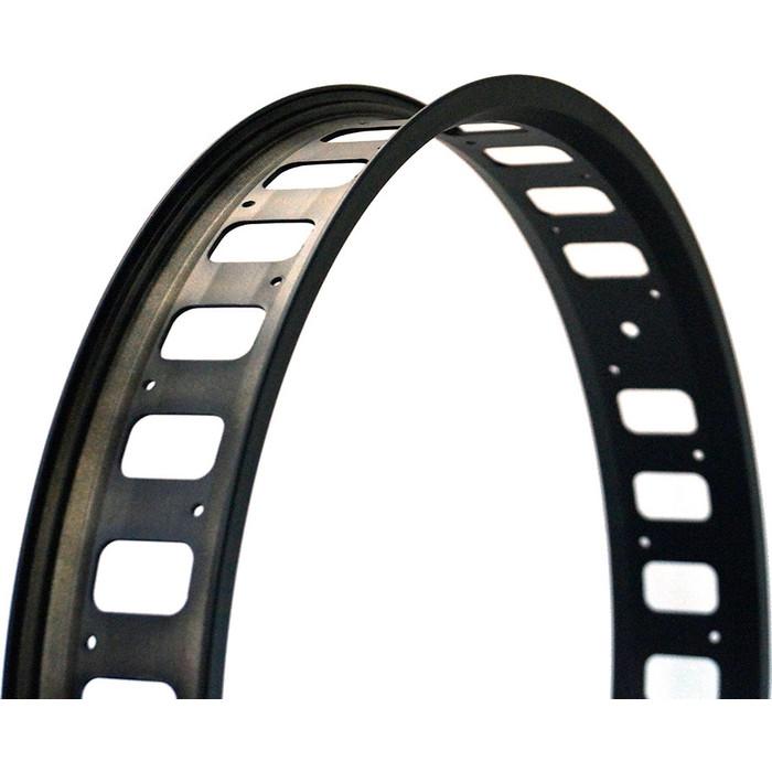 Колесо NANDUN обод 24x36H, 80mm (Fatbike) черный