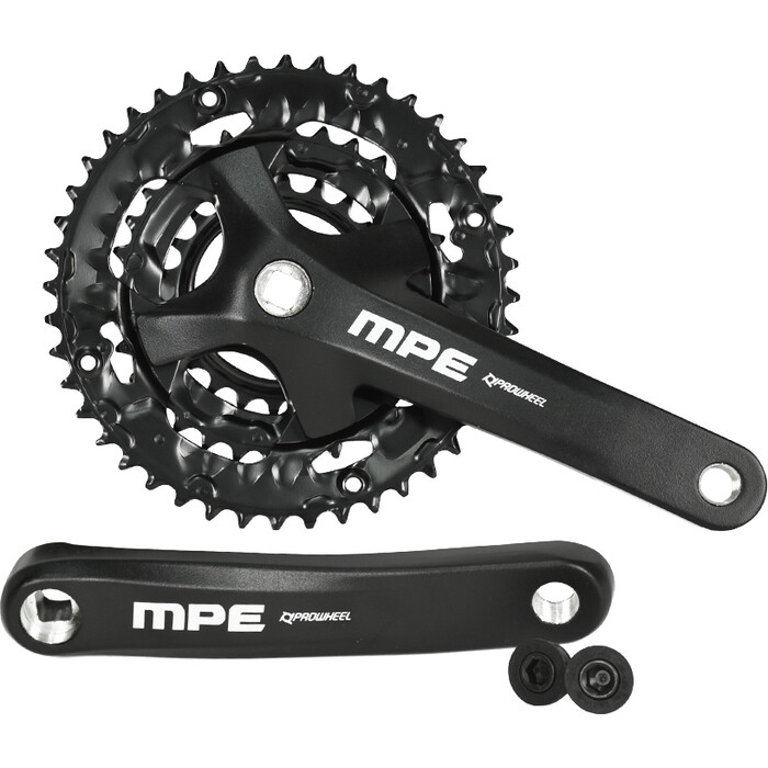 Шатуны PROWHEEL система MPL-971-TTx175mm, (40/30/22)AL-6061-T6, CHAINLINE:50, BCD96/64mm, PW-BB73, черный