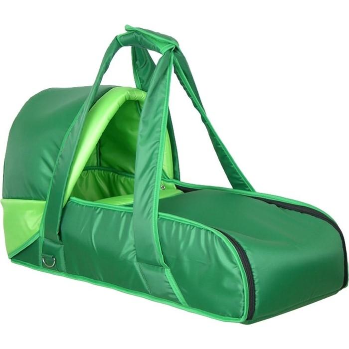 Люлька кокон Фея переносная (зелен) 0005605-4