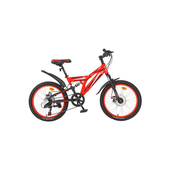 Велосипед AVENGER 20 F201D, красный, 13 (2020)