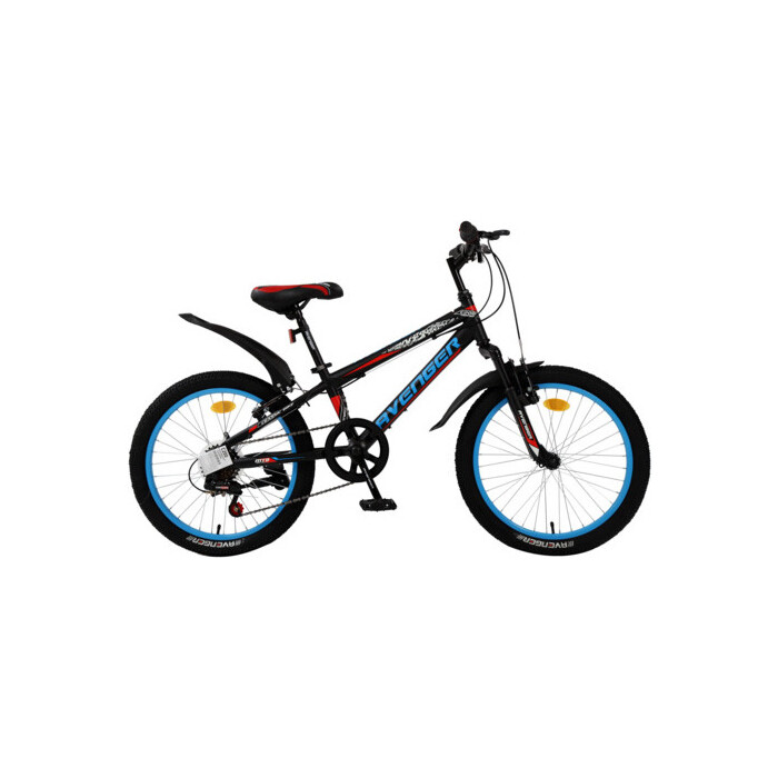 Велосипед AVENGER 20 C200, черный/красный, 10 (2020)