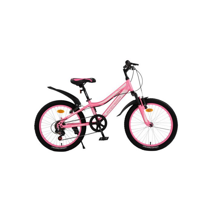 Велосипед AVENGER 20 C200W, розовый/серебристый, 10 (2020)