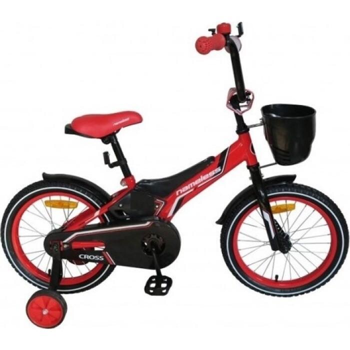 Велосипед Nameless 18 CROSS, красный/черный (2020)