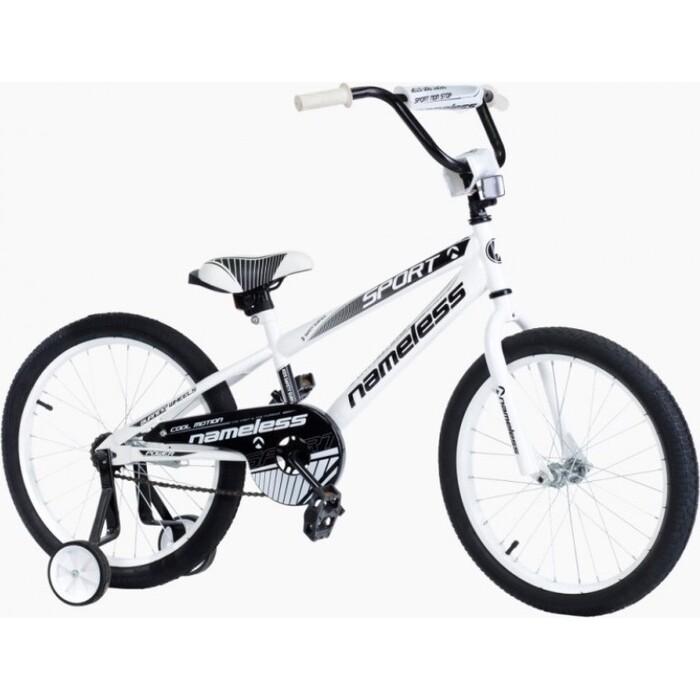 Велосипед Nameless 18 SPORT, белый/черный (2020)