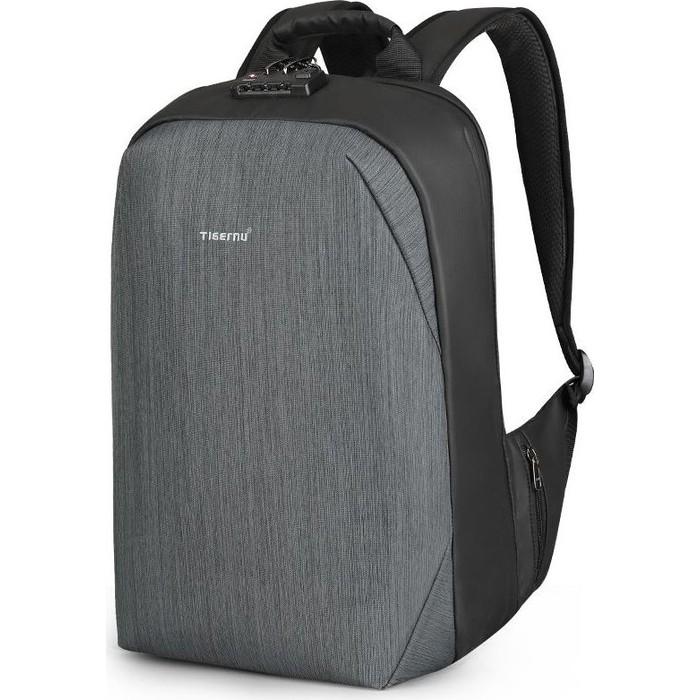 Рюкзак Tigernu T-B3669 черный/серый, 15.6