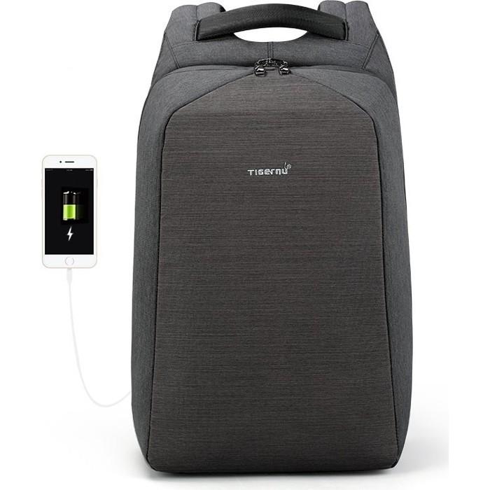 Рюкзак Tigernu T-B3361 темно-серый, 15,6