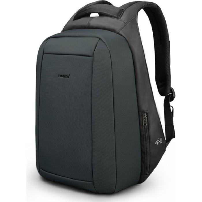 Рюкзак Tigernu T-B3599 черный-темно-изумрудный, 15.6