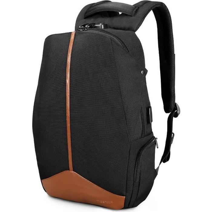 Рюкзак Tigernu T-B3593A черно-коричневый, 15.6