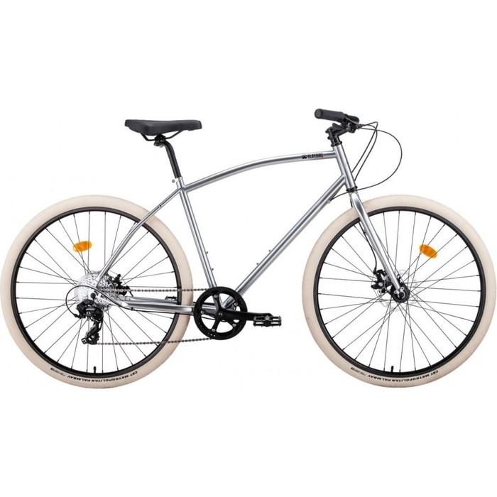 Велосипед Bear Bike Пермь (рост 500 мм) 2018-2019 (хром, RBKBB9000044)