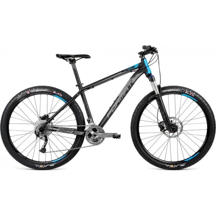 Велосипед Format 1213 27,5 (рост S) 2017-2018 (черный мат., RBKM8MU7T001)