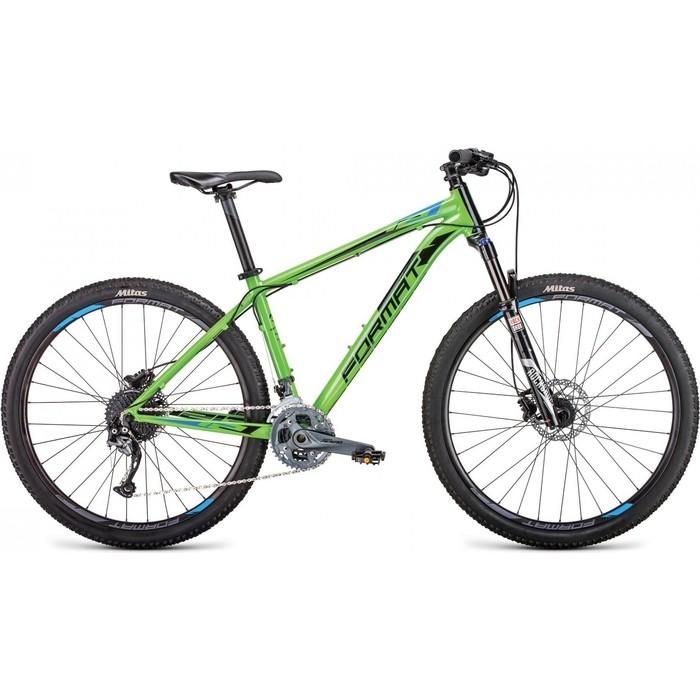 Велосипед Format 1213 27,5 (рост S) 2018-2019 (зеленый, RBKM9M67S001)