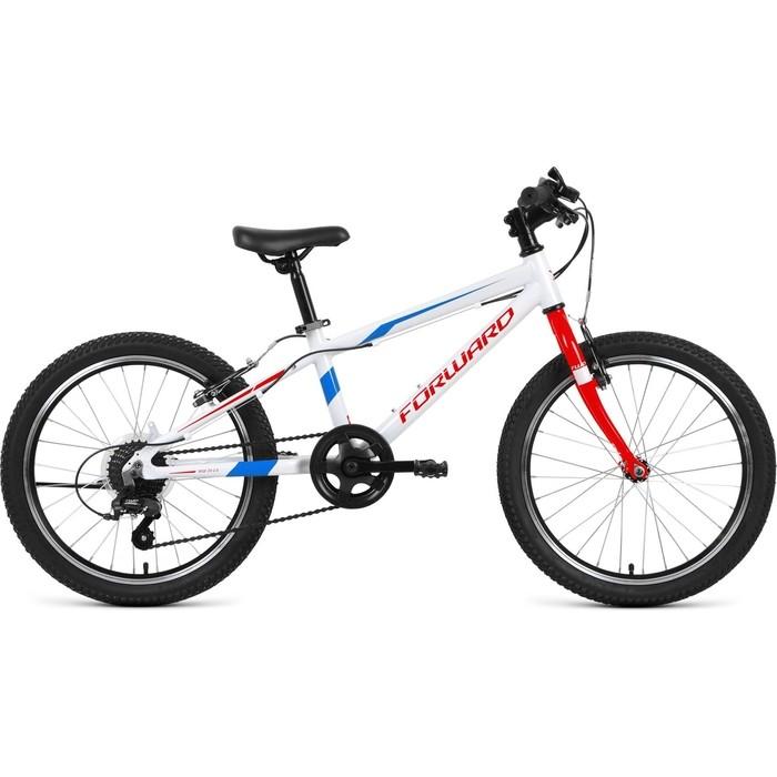 Подростковый велосипед Forward RISE 20 2.0 (рост 10.5) 2018-2019 (оранжевый/белый, RBKW91607005) двухколесные велосипеды forward rise 20 2 0 10 5 2019