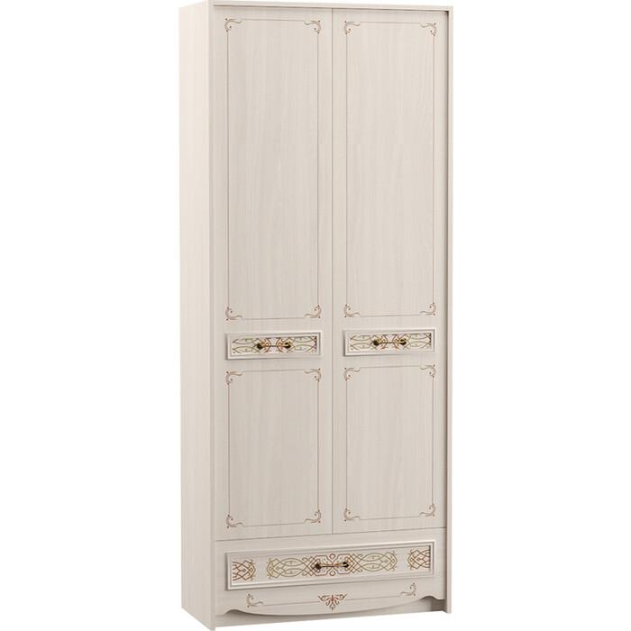 Шкаф комбинированный Моби Флоренция 13.04 ясень анкор светлый