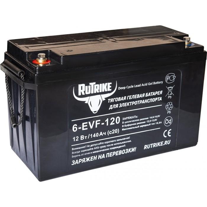 Аккумулятор Rutrike Тяговый гелевый 6-EVF-120 (12V120A/H C3)