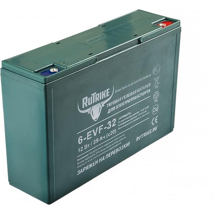 Аккумулятор Rutrike Тяговый гелевый 6-EVF-32 (12V32A/H C3)