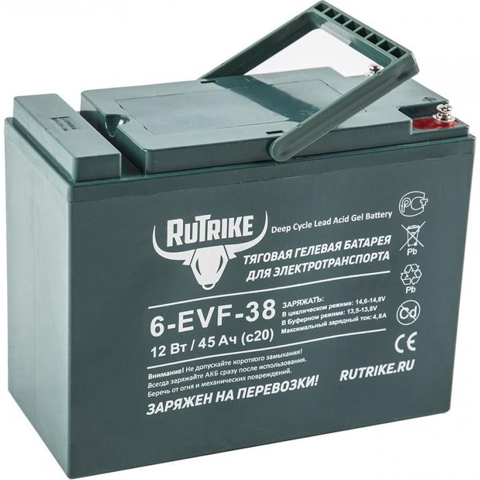 Аккумулятор Rutrike Тяговый гелевый 6-EVF-38 (12V38A/H C3)