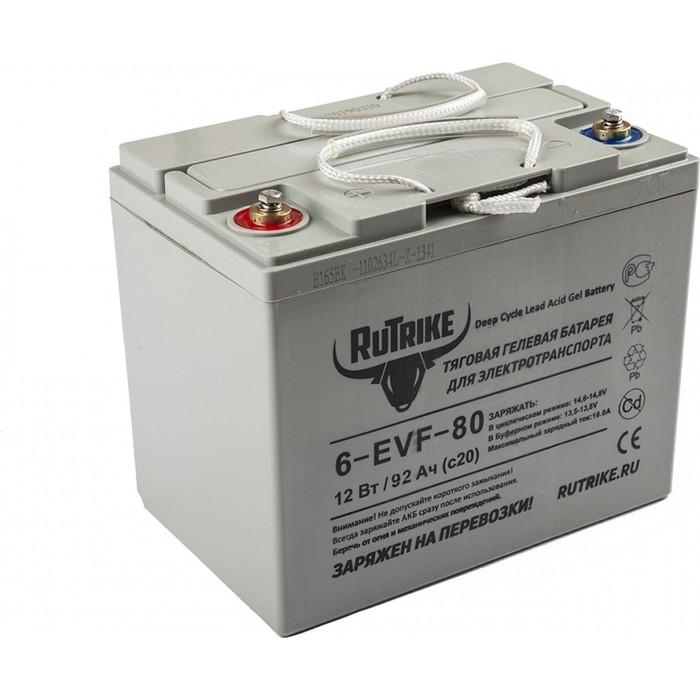 Аккумулятор Rutrike Тяговый гелевый 6-EVF-80 (12V80A/H C3)