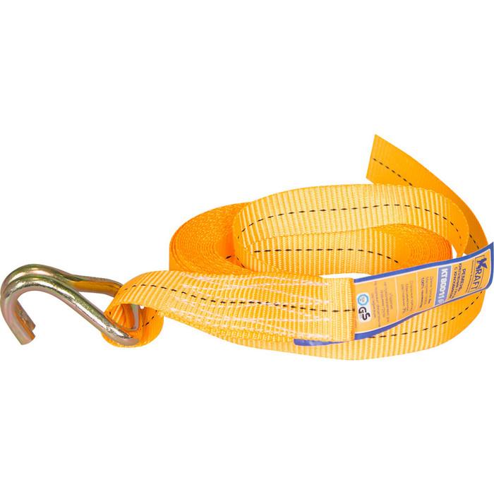 Ремень крепления груза Kraft с храповиком 8м 2 т (KT 800116)