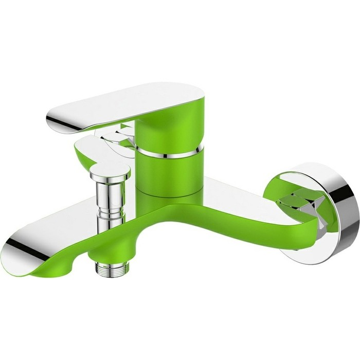 Смеситель для ванны Devida Gemma-Grass с изливом, зеленый (DVS1424-15G)