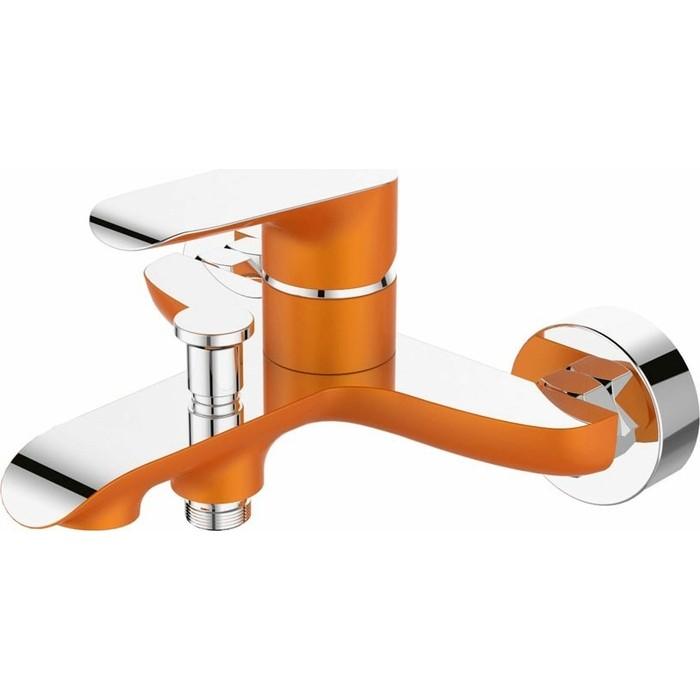 Смеситель для ванны Devida Gemma-Orange с изливом, оранжевый (DVS1424-15O)