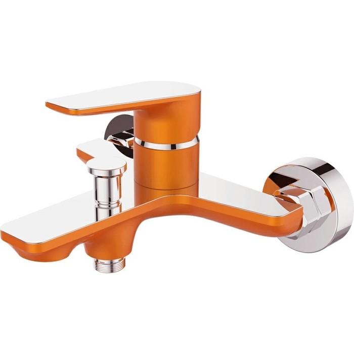 Смеситель для ванны Devida Viva-Orange с изливом, оранжевый (DVS0824-11O)