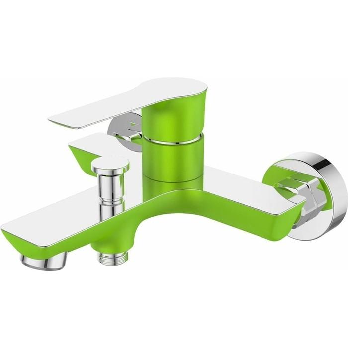 Смеситель для ванны Devida Zutto-Grass с изливом, зеленый (DVS1224-14G)