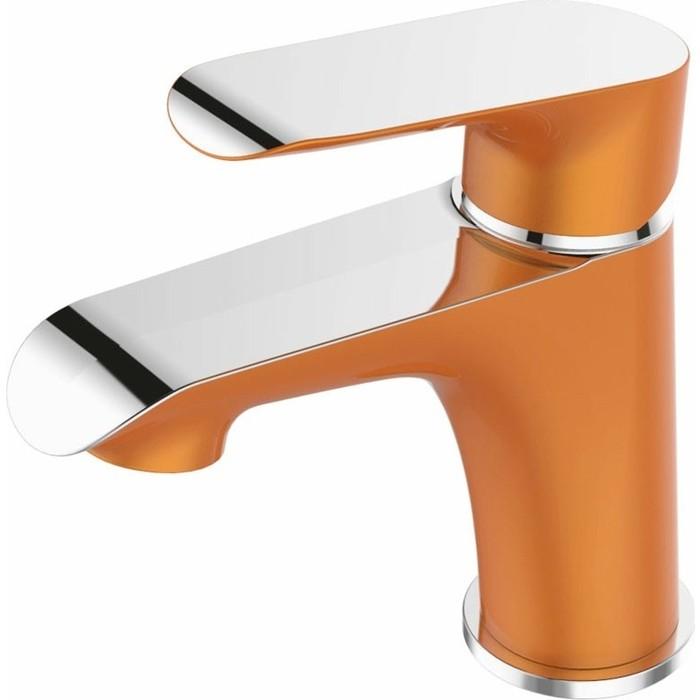 Смеситель для раковины Devida Gemma-Orange на гайке, оранжевый (DVS1443-15O)
