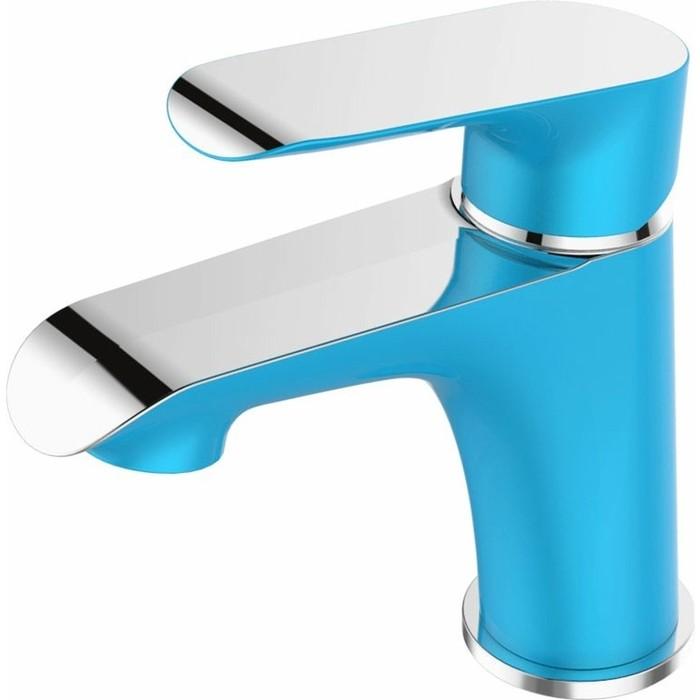Смеситель для раковины Devida Gemma-Sky на гайке, синий (DVS1443-15S)