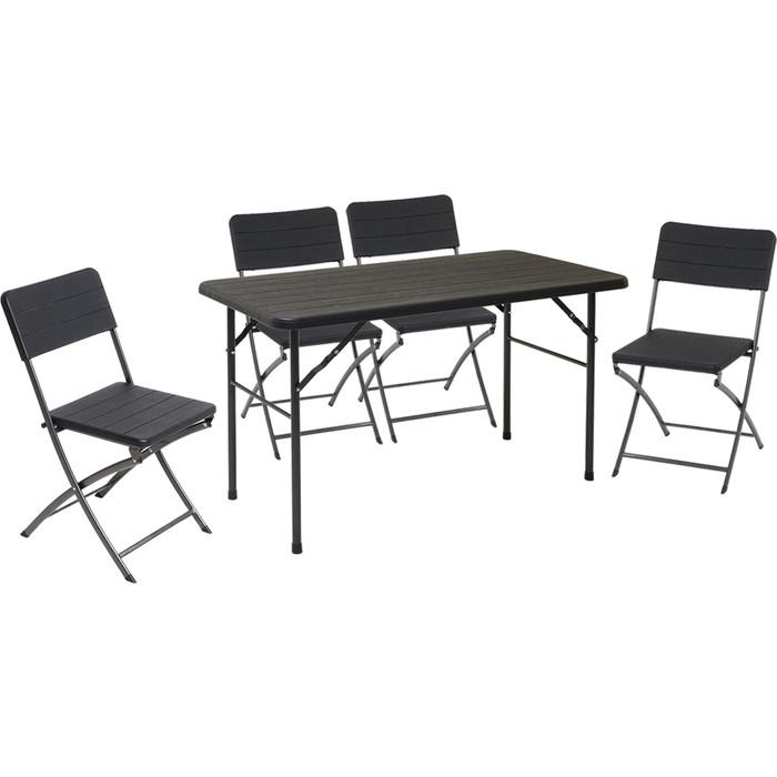 Набор складной мебели Go Garden MIRAMAR, садовый, 120х60х74 см, пластик/сталь