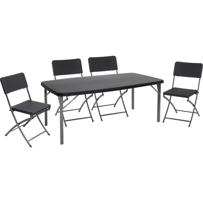 Набор складной мебели Go Garden TORINO, садовый, 152х83,5х73 см, пластик/сталь