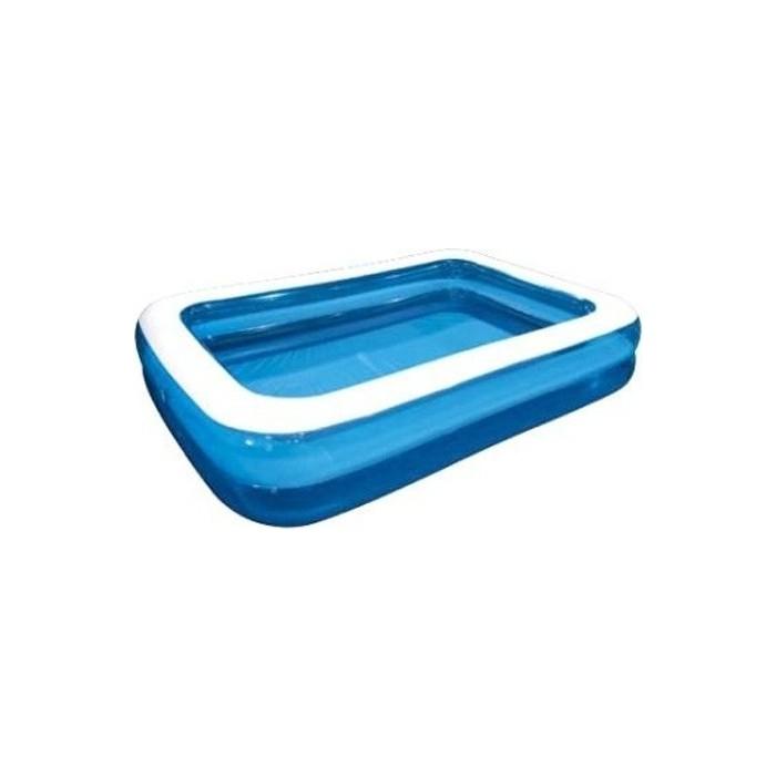 Надувной бассейн Jilong GIANT, 305х183х50см, семейный, цвет голубой
