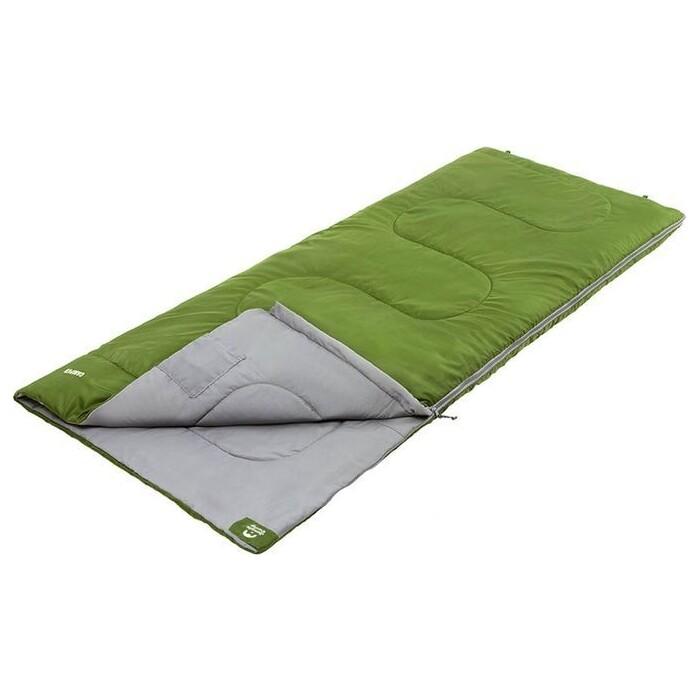 Спальный мешок Jungle Camp Camper, левая молния, цвет зеленый 70932