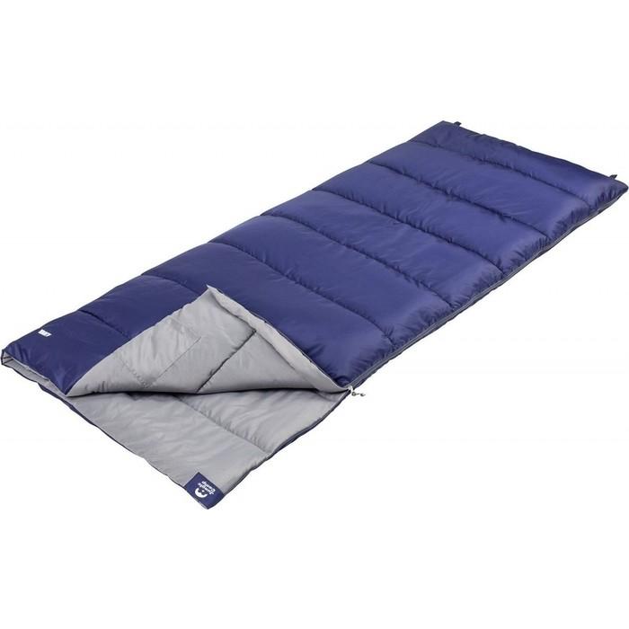 Спальный мешок Jungle Camp Avola, левая молния, цвет синий 70935