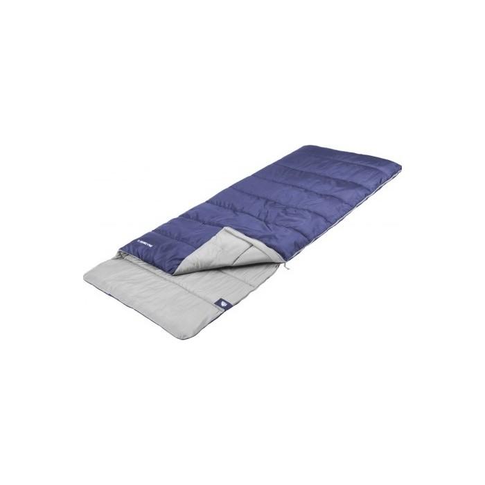 Спальный мешок Jungle Camp Avola Comfort, с подголовником, левая молния, цвет синий 70936