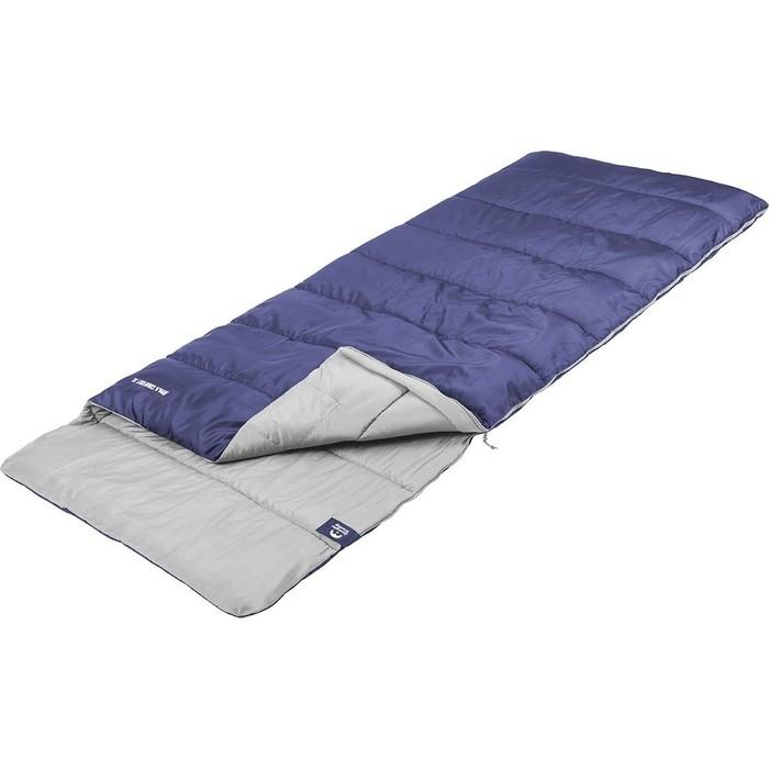 Спальный мешок Jungle Camp Avola Comfort XL, широкий, левая молния, цвет синий 70937