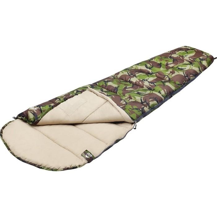 Спальный мешок Jungle Camp Raptor, левая молния, цвет камуфляж 70971