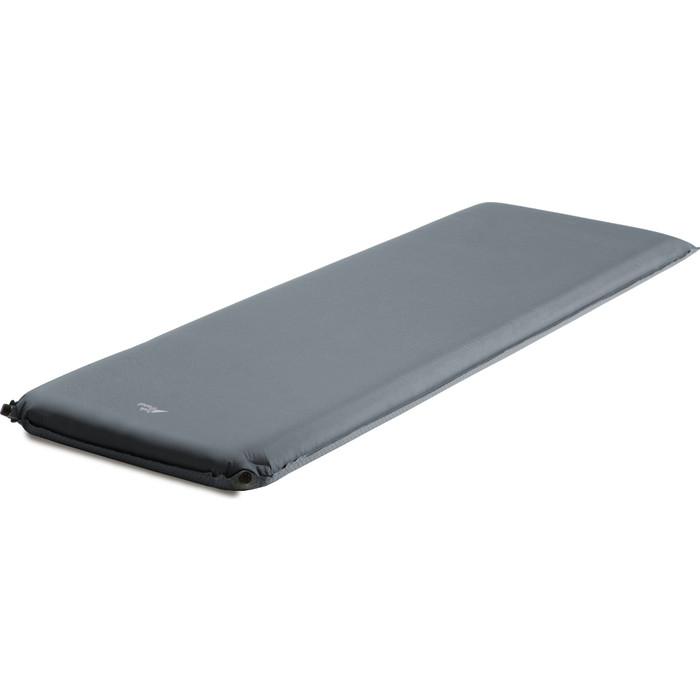 Коврик TREK PLANET самонадувающийся кемпинговый Relax 90, серый