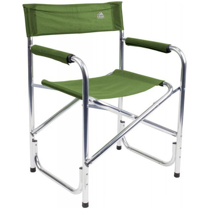 Кресло складное TREK PLANET Camper Alu Olive, кемпинговое, 48х34х82см, алюм.