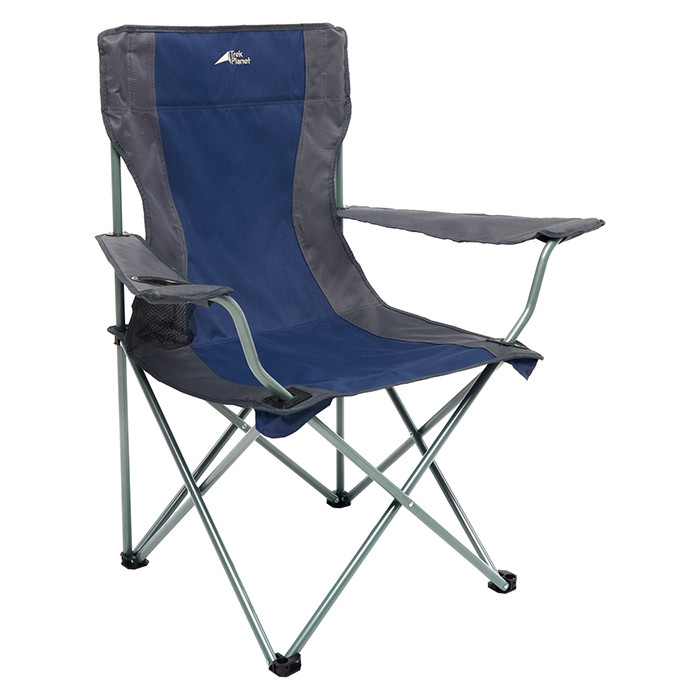 Кресло складное TREK PLANET Picnic Navy, кемпинговое, 54х54х90см