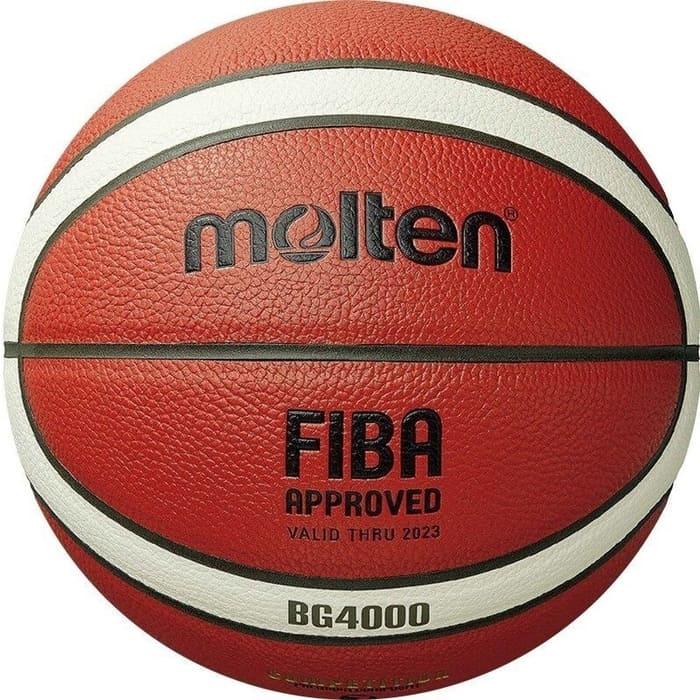 Мяч баскетбольный Molten матчевый FIBA Approved B7G4000 (композит) р.7