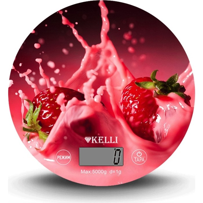 Фото - Кухонные весы Kelli KL-1541 весы kelli kl 1524