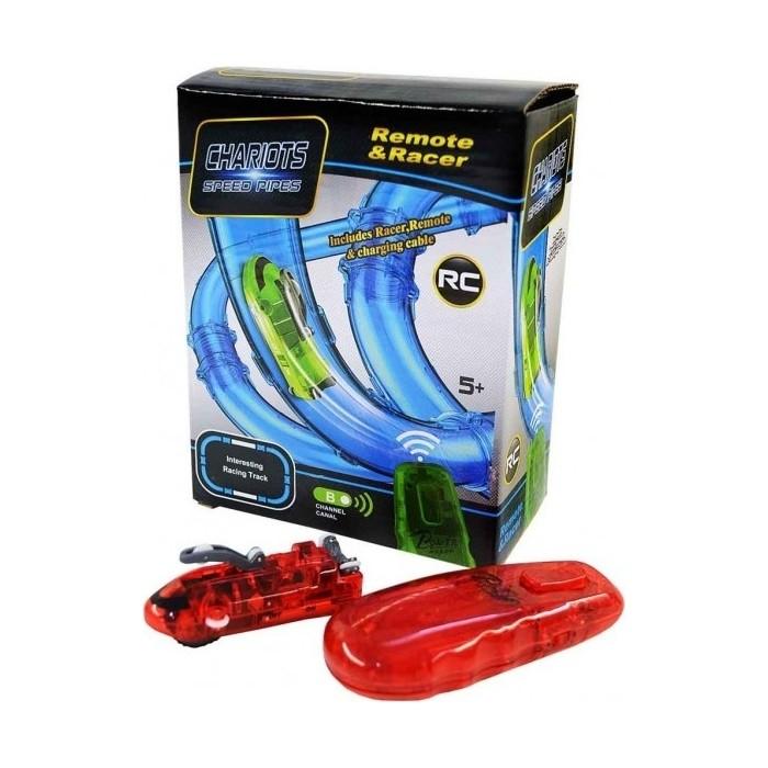 Радиоуправляемая машинка CS Toys для гоночного трека в трубе (светится темноте) - 022-8