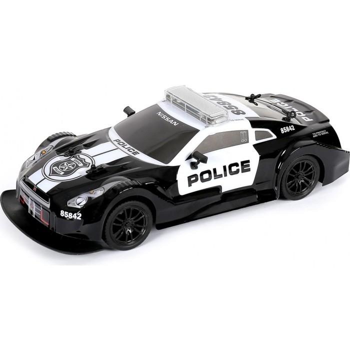 Радиоуправляемая машина MX Nissan GTR Полиция (с мигалками) 1/16 - MX8992