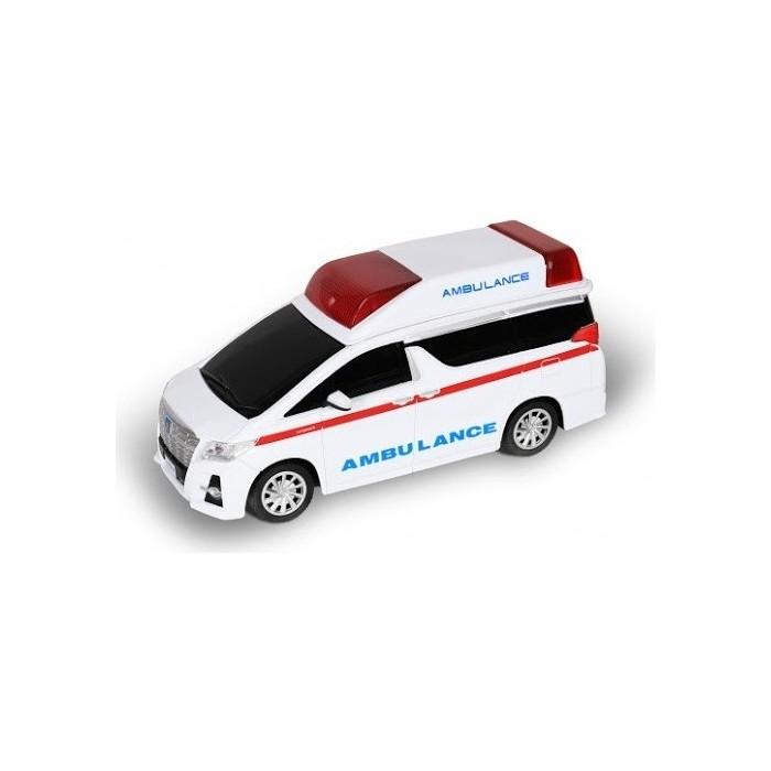Радиоуправляемая машина MX Toyota Alphard Скорая помощь (с мигалками) 1/24 - MX25003