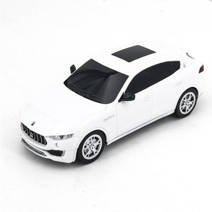 Радиоуправляемая машина MZ Model Maserati SUV Levante MY White 1/24 - 27056-W fit for maserati levante car interior accessories auto navigator frame trim cover sticker car styling abs